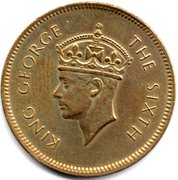 50 Cents - George VI – obverse
