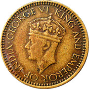 25 Cents - George VI – obverse