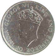1 Cent - George VI (Trial Strike) – obverse