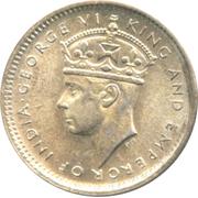 10 Cents - George VI – obverse