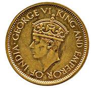50 Cents - George VI (Trial Strike) – obverse