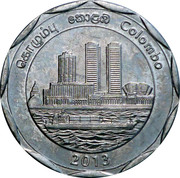 10 Rupees (Colombo) – obverse