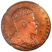 5 Cents - Edward VII (Trial Strike) – obverse