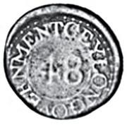 1/48 Rixdollar – reverse