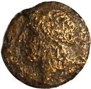 Bronze Æ20 (Olynthos) – obverse