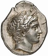 Tetradrachm - Olympichos (Olynthos) – obverse