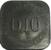 10 Centimes (Charleville) – obverse