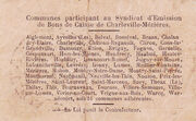 25 centimes - Syndicat d'Emission fr Bons de Caisse de Charleville-mizières – reverse