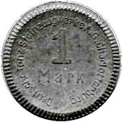 1 Mark - Charlottenburg  (Deutsche Ton & Steinzeugwerke AG) – obverse