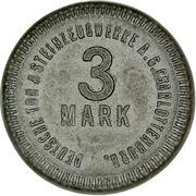 3 Mark - Charlottenburg (Deutsche Ton & Steinzeugwerke A. G.) – obverse