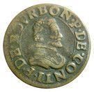 Double Tournois - François (18th type) – obverse