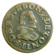Double Tournois - François (18th type) – obverse