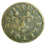 Double Tournois - François (18th type) – reverse