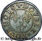 Double Tournois - François (15th type) – reverse