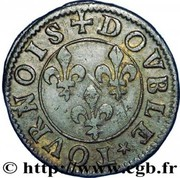 Double Tournois - François (15th type) – reverse