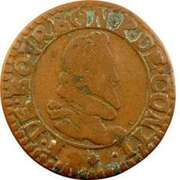 Double Tournois - François (5th type) – obverse