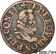 Double Tournois - François (6th type) – obverse