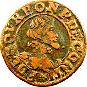 Double Tournois - François (13th type) – obverse