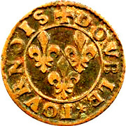 Double Tournois - François (13th type) – reverse
