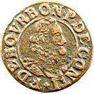 Double Tournois - François (14th type) – obverse