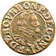 Double Tournois - François (14th type) – obverse