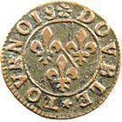 Double Tournois - François (14th type) – reverse