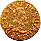 Double Tournois - François (16th type) – obverse