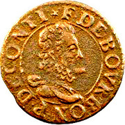 Double Tournois - François (16th type) – obverse