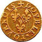 Double Tournois - François (16th type) – reverse