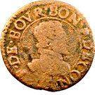 Double Tournois - François (17th type) – obverse