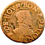 Double Tournois - François (17th type) – obverse
