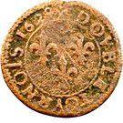 Double Tournois - François (17th type) – reverse