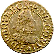 Double Tournois - François (9th type) – obverse