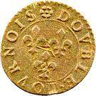 Double Tournois - François (9th type) – reverse