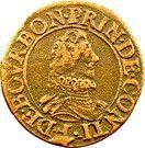 Double Tournois - François (10th type) – obverse