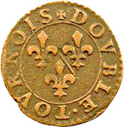 Double Tournois - François (10th type) – reverse