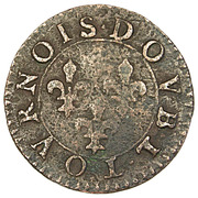 Double Tournois - François (8th type) – reverse