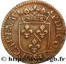 Liard François de Bourbon-Conti au buste large – reverse
