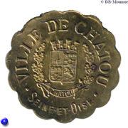 25 Centimes (Chatou) – obverse
