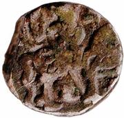 """Anonymous """"Post Shahi"""" Sri Samantha Deva Jital (900-1200AD) – reverse"""