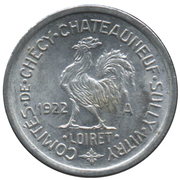 10 Centimes (Checy-Chateauneuf-Sully-Vitry) – obverse