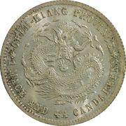 20 Fen - Guangxu (Four characters) – reverse