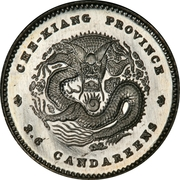 5 Fen - Guangxu (Pattern) – reverse