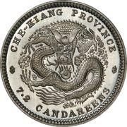 10 Fen - Guangxu (Pattern) – reverse