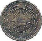 2 Centavos (Hidalgo del Parral) – obverse