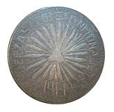 50 Centavos (Hidalgo del Parral) – obverse