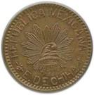 10 Centavos (Constitutionalist Army) – obverse