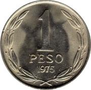 """1 Peso (""""BERNARDO O'HIGGINS"""") -  reverse"""