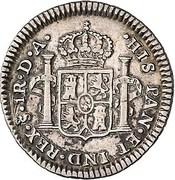 1 Real - Carlos IV (bust of Carlos III, CAROLUS IIII) – reverse
