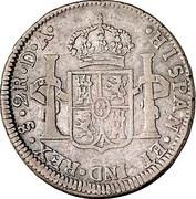 2 Reales - Carlos IV (bust of Carlos III) – reverse
